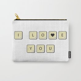 Love scrabble Carry-All Pouch