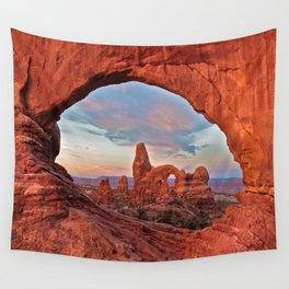 Arches National Park - Turret Arch Wall Tapestry