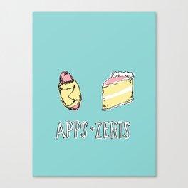Apps & Zerts Canvas Print