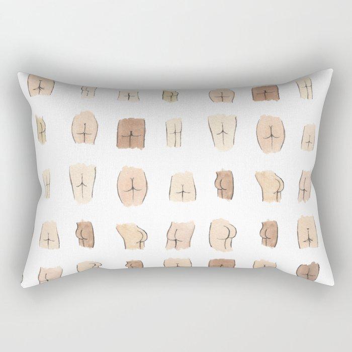 Lotsa Butts! Rectangular Pillow