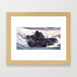 Dead Knight Framed Art Print