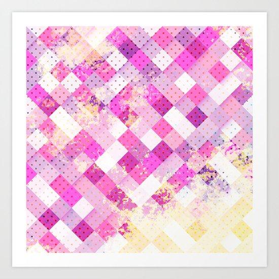 Sweet in Pink Art Print