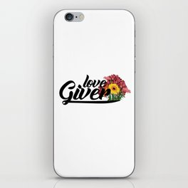 love giver iPhone Skin