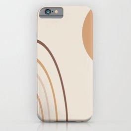 Greeting the sun #abstractart #digitalart iPhone Case