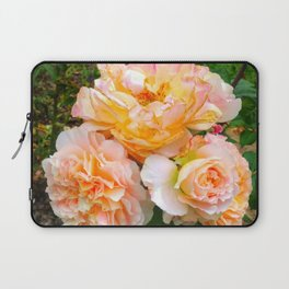 Bunch of Orange and Pink Roses Laptop Sleeve