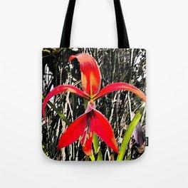 Flor de Quetzatlcoatl o Fleur de Lys Tote Bag