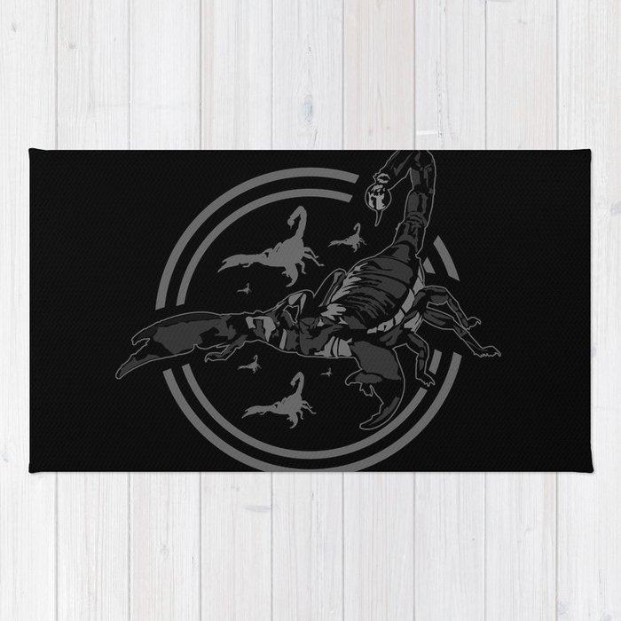 Scorpion GREY Rug