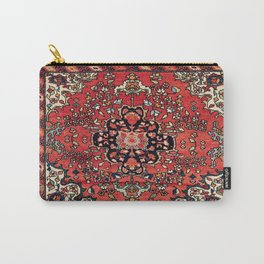Farahan Arak West Persian Poshti Print Carry-All Pouch