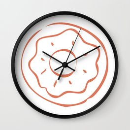 Caramel Town - Dotty Wall Clock
