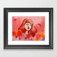 Eivør Framed Art Print