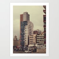 buildings 2 Art Print