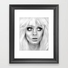 + BAMBI EYES + Framed Art Print