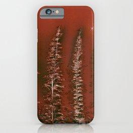 Tamarack Trees iPhone Case