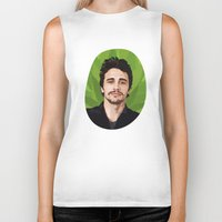 james franco Biker Tanks featuring James Franco by WeedPornDaily