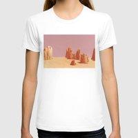 desert T-shirts featuring Desert by CaptClare