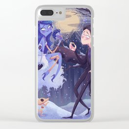 Emily and Victor Clear iPhone Case