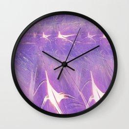 Abstract Of Lights Wall Clock