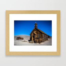 The Chapel Of Bodie Framed Art Print