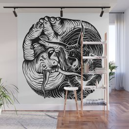 TAO TRICERATOPS Wall Mural