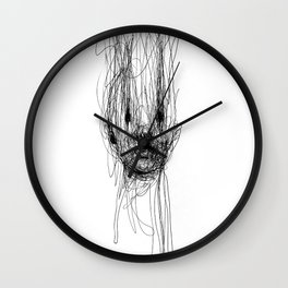 Disappearing Wall Clock