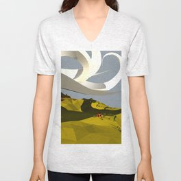 They Cast An Odd Shadow Unisex V-Neck