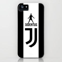 Christiano Ronaldo Juventus iPhone Case