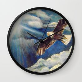 Renewed Strength Wall Clock