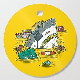 Safety Third Shark Cutting Board