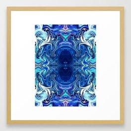 Mind Glue 4 Framed Art Print
