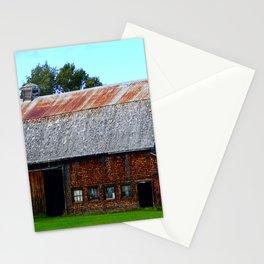 Vintage Acadian Barn Stationery Cards