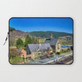 Carrog Railway Station Laptop Sleeve