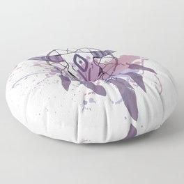 Splat Colors - Skull Dreamcatcher Floor Pillow