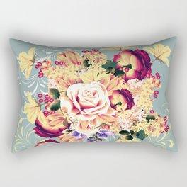 Roses and lilac. Beautiful victorian design Rectangular Pillow