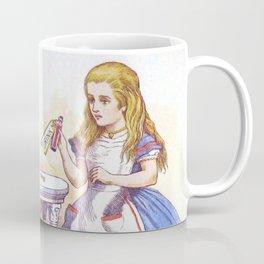 Alice and the Drink Coffee Mug