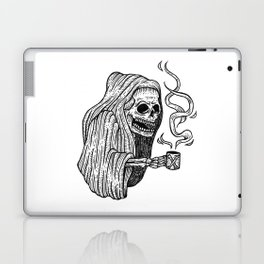 death before decaf Laptop & iPad Skin