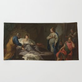 Stefano Pozzi - Antiochus Yearning for Stratonice Beach Towel