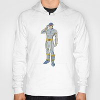 cyclops Hoodies featuring Cyclops by colleencunha
