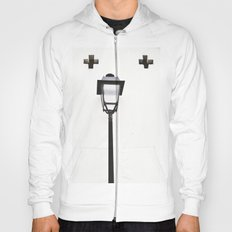 White House With Cross Hoody