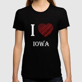 Iowa classic. I love my favorite city. T-shirt