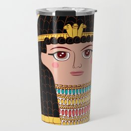 Queen Cleopatra Travel Mug