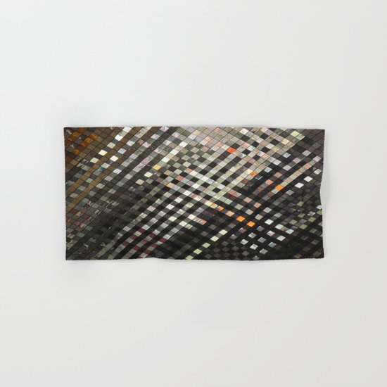 Checkered Reflections II Hand & Bath Towel