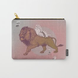 Gold Lion Carry-All Pouch