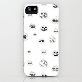 Scariest Pumpkins Around iPhone Case