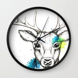 Stag III Wall Clock