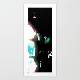 Soundwaves Art Print