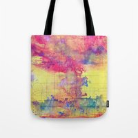 maps Tote Bags featuring maps by Emily Tumen