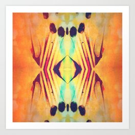For the love of symmetry Art Print
