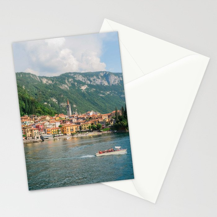 Bellagio in Lake Como Italy Stationery Cards