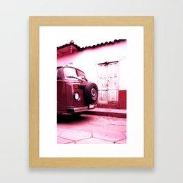 VWBus 17B Framed Art Print