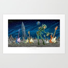 In a Locked Room on the Moon Art Print